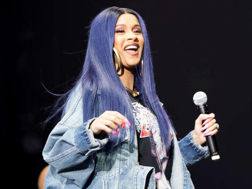 Cardi B Blue Hair: Inside Cardi B's Last Performance At Broccoli City