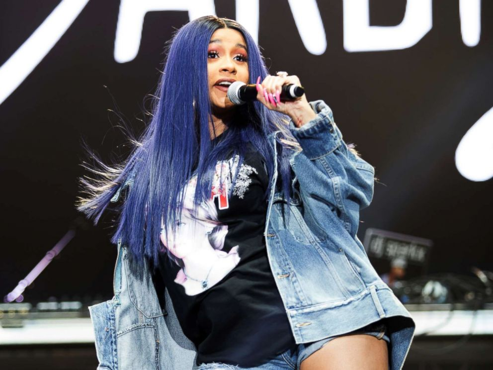 Cardi B Rapping: Inside Cardi B's Last Performance At Broccoli City