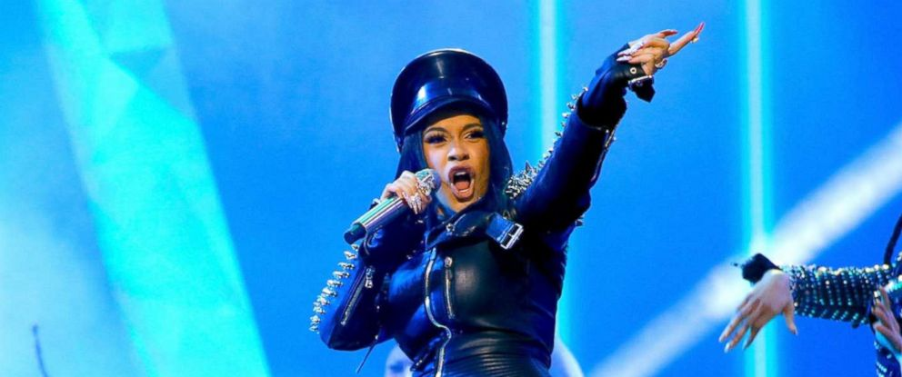 76b2e1a05bab PHOTO  Cardi B performs during the 2018 iHeartRadio Music Awards on March  11