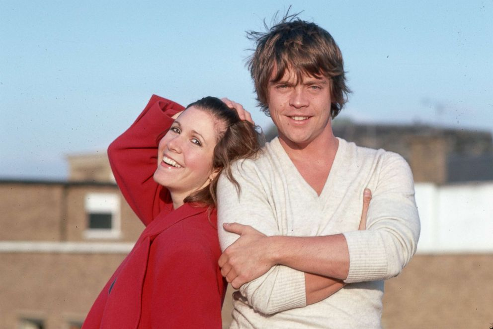 PHOTO: Star Wars trilogy costars Mark Hamill and Carrie Fisher circa 1980.