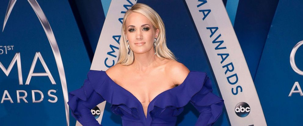 PHOTO: Carrie Underwood attends the 51st annual CMA Awards at the Bridgestone Arena on Nov. 8, 2017 in Nashville, Tenn.