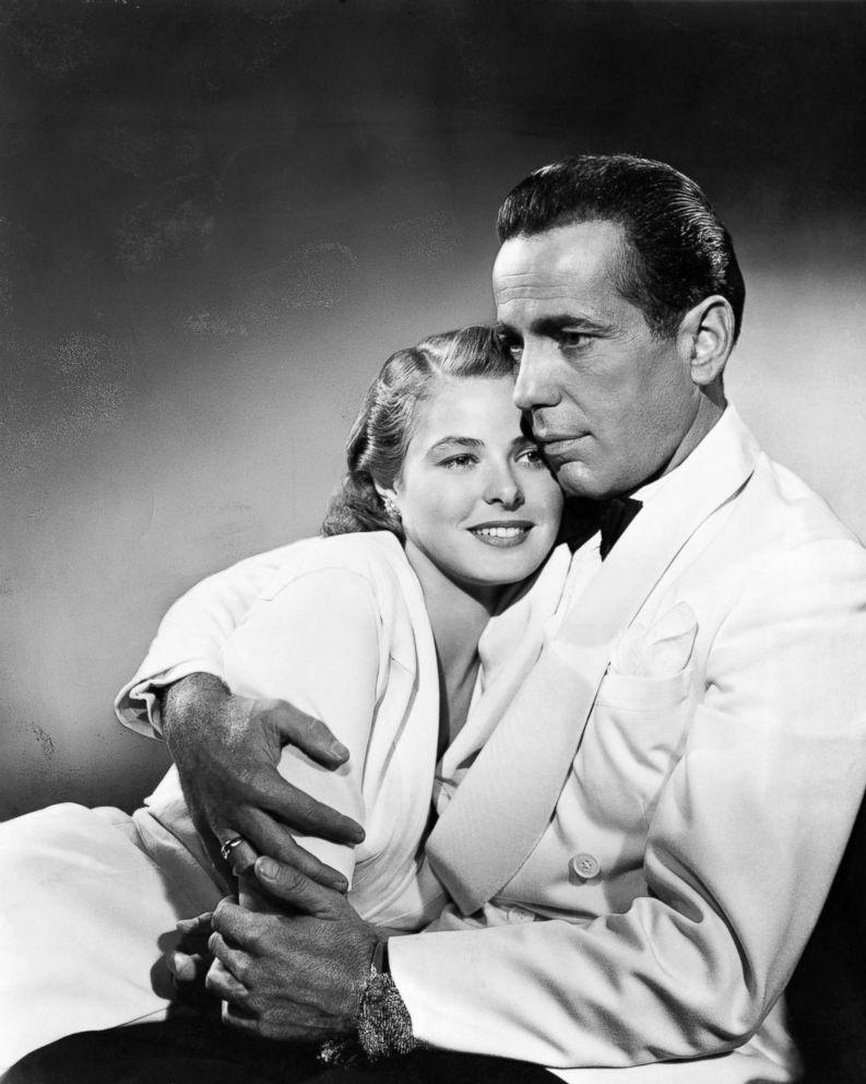 PHOTO: Humphrey Bogart holds Ingrid Bergman in a scene from Casablanca.