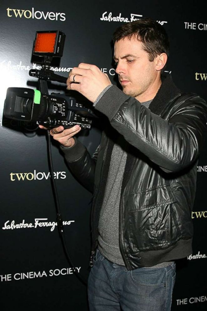 """PHOTO: Casey Affleck at the Feb. 2009 screening of """"Two Lovers"""", during the production of """"I'm Still Here""""."""