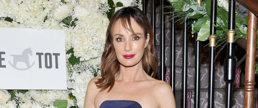 PHOTO: Catt Sadler attends The Tot holiday pop-up celebration at Laduree at the Grove on Dec. 4, 2017 in Los Angeles.