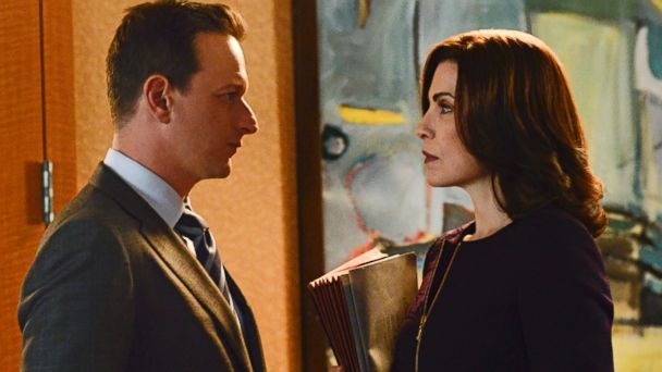 "PHOTO: Josh Charles as Will Gardner and Julianna Margulies as Alicia on The Good Wife""."