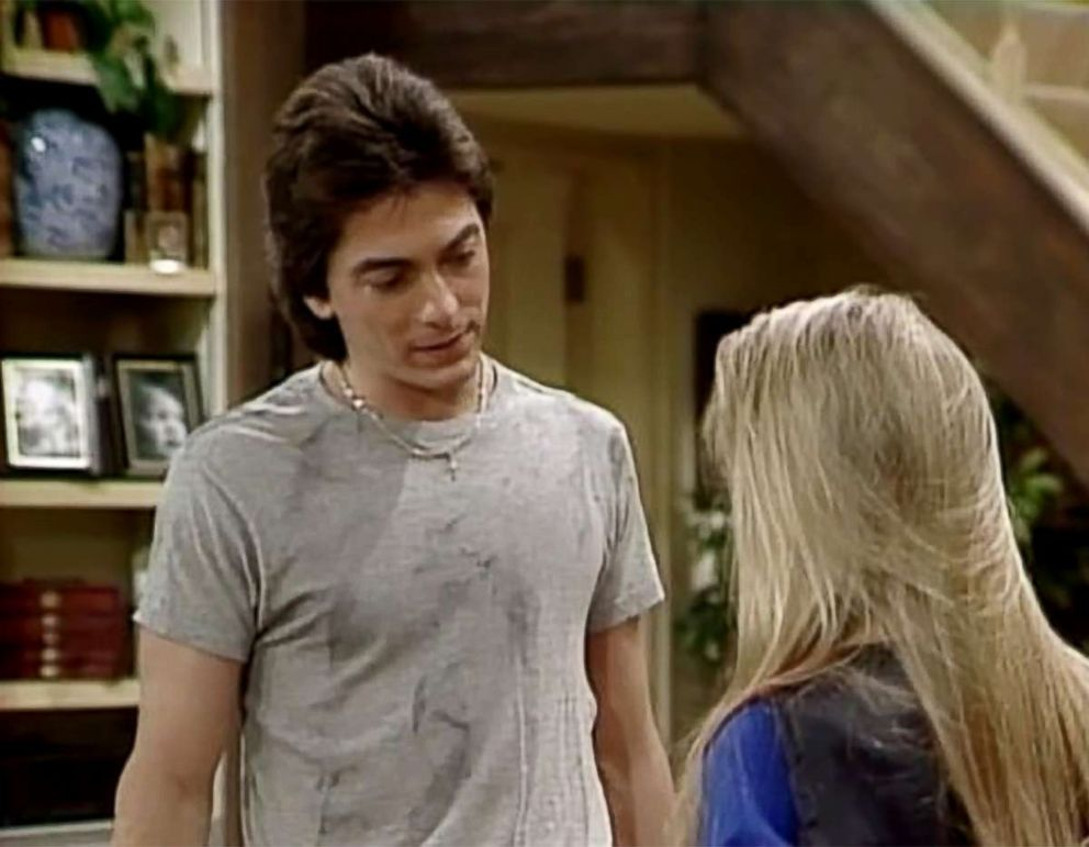 PHOTO: A scene from the t.v. show Charles in Charge, in 1984.