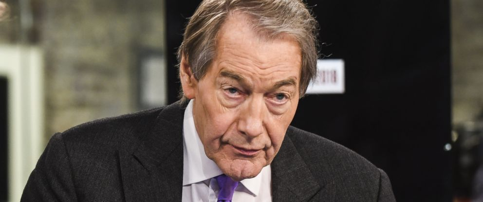 PHOTO: Charlie Rose anchors CBS News on Nov. 8 in New York.