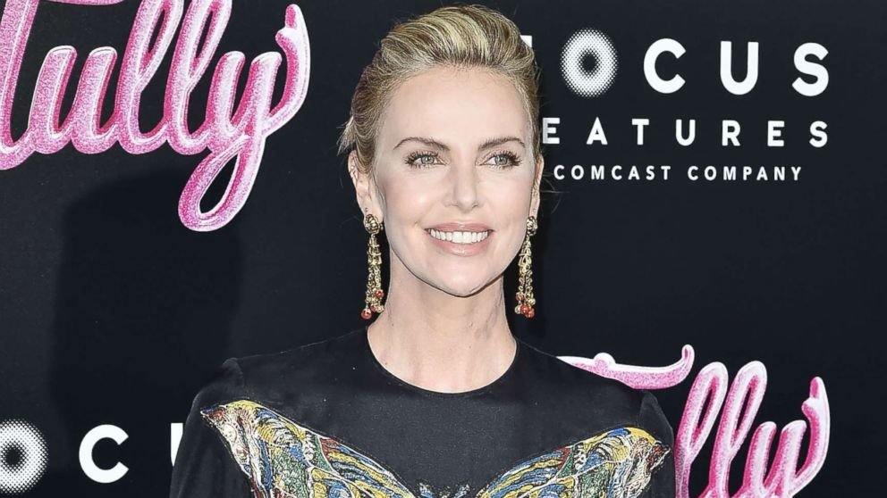 Charlize Theron dismisses gaining weight for movie 'Tully': 'Do you