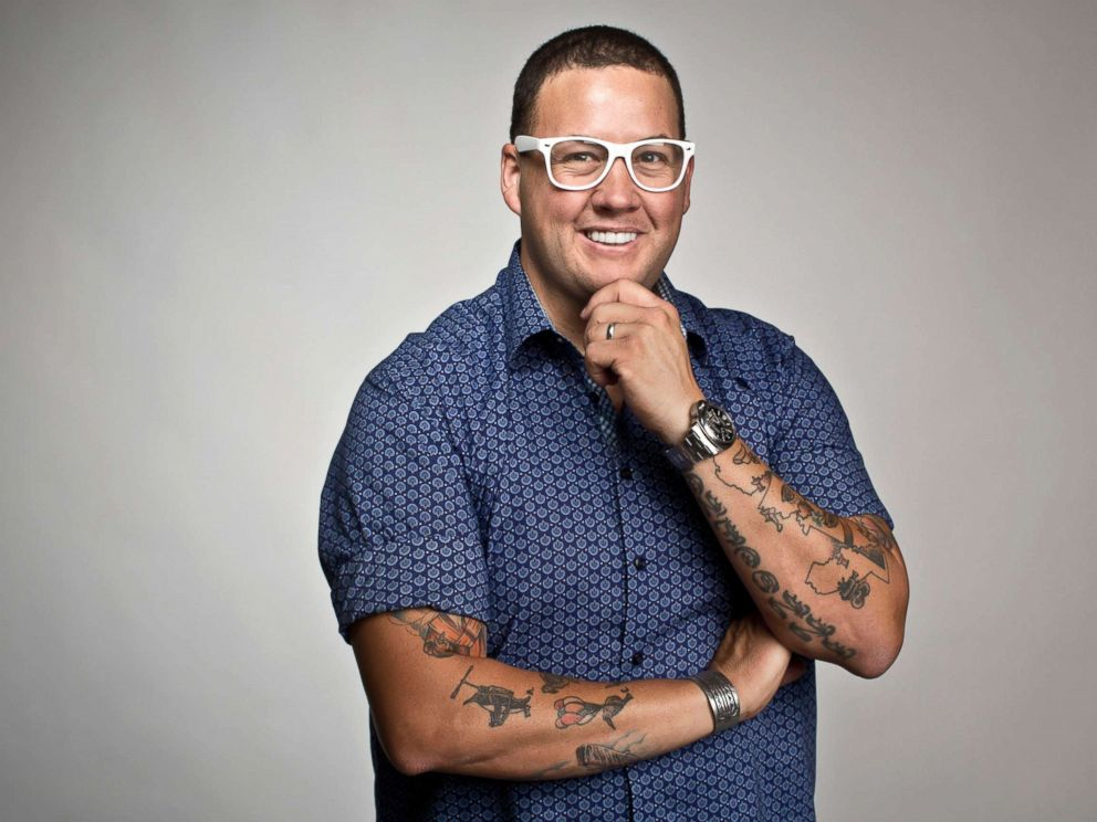 PHOTO: Celebrity chef Graham Elliot photographed at The Toronto Star in this July 12, 2016 file photo.