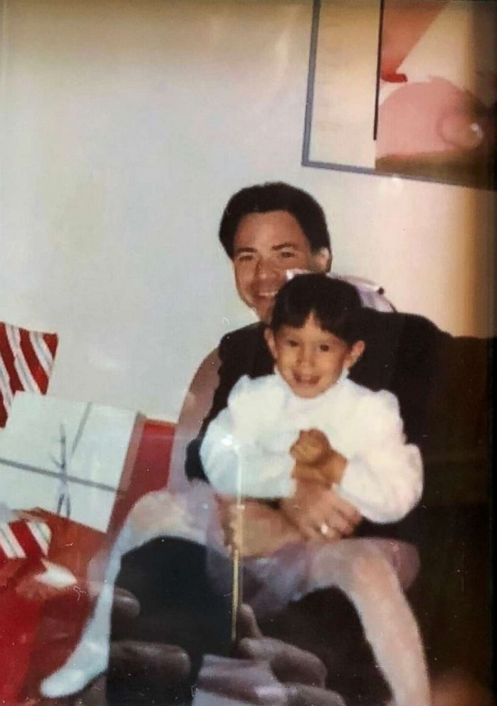 PHOTO: Cheryl Burke and her father are photographed here in this family photo.