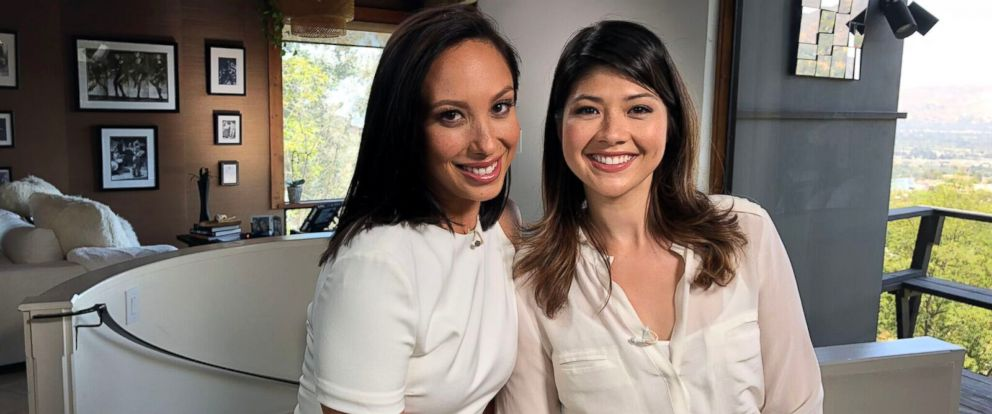 """PHOTO: Cheryl Burke of """"Dancing With the Stars"""" reunited with her half-sister, Ina Burke, for the first time since they were children."""