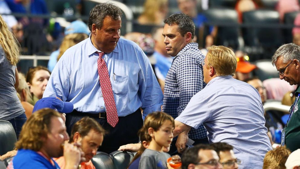 Governor of New Jersey Chris Christie attends the game between the New York Mets and the St. Louis Cardinals at Citi Field, July 18, 2017, Flushing, New York.