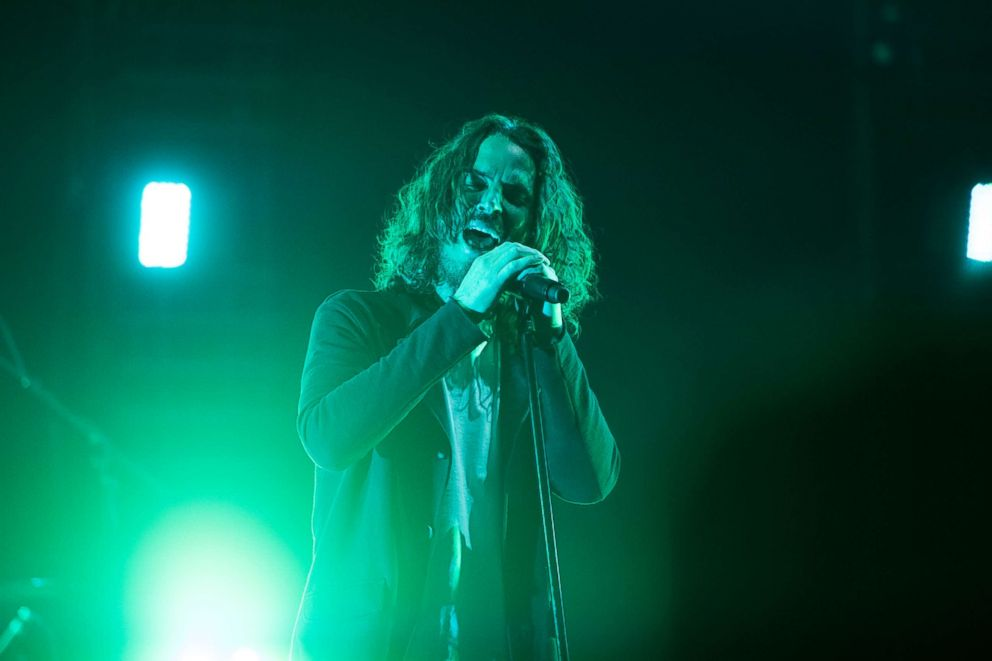 PHOTO: Chris Cornell of Soundgarden performs onstage at Fox Theater, May 3, 2017, in Atlanta, Georgia.