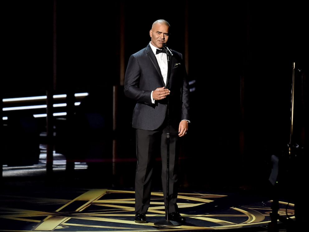 PHOTO: Christopher Jackson performs onstage during the 69th Annual Primetime Emmy Awards at Microsoft Theater on Sept. 17, 2017 in Los Angeles.