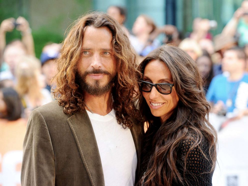 PHOTO: Chris Cornell and wife Vicky Karayiannis arrive at the premiere of Machine Gun Preacher during the Toronto International Film Festival on Sept. 11, 2011, in Toronto.