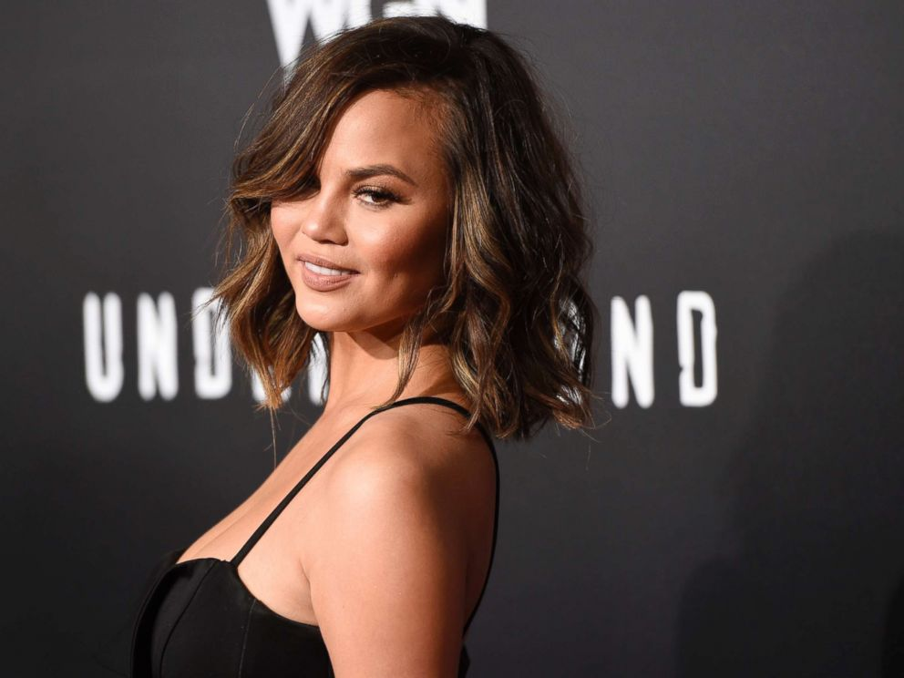 PHOTO: Chrissy Teigen poses at the season two premiere of the television series Underground in Los Angeles, Feb. 28, 2017.