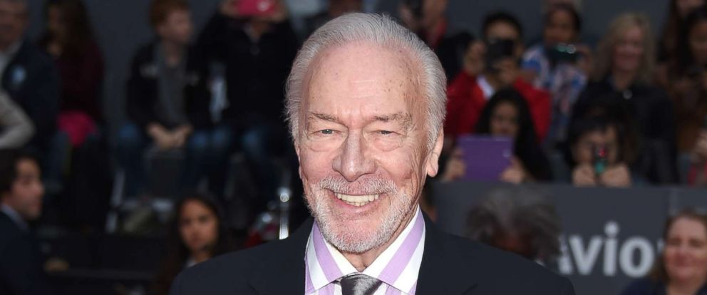 "PHOTO: Christopher Plummer attends the ""Remember"" premiere during the 2015 Toronto International Film Festival at Roy Thomson Hall on Sept. 12, 2015 in Toronto."