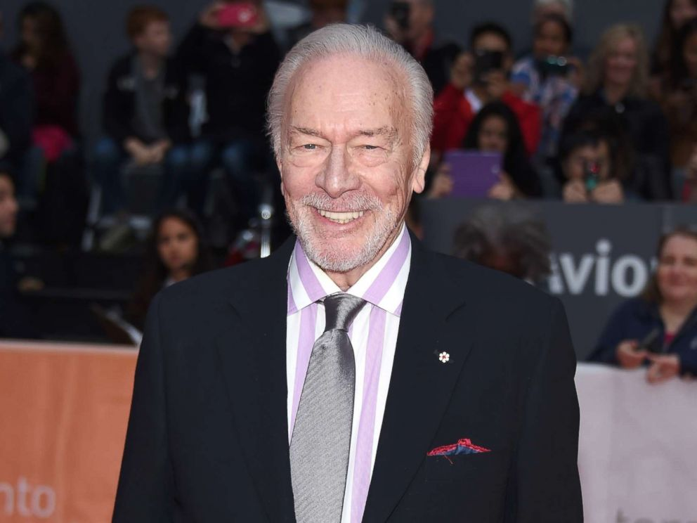 PHOTO: Christopher Plummer attends the Remember premiere during the 2015 Toronto International Film Festival at Roy Thomson Hall on Sept. 12, 2015 in Toronto.