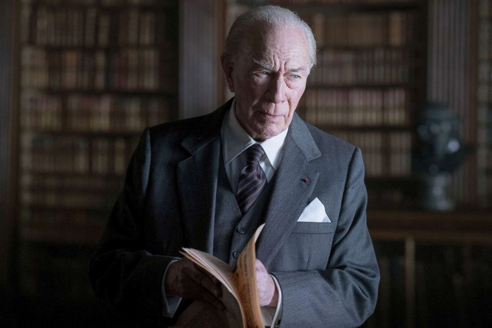 PHOTO: Christopher Plummer in a scene from All the Money in the World.