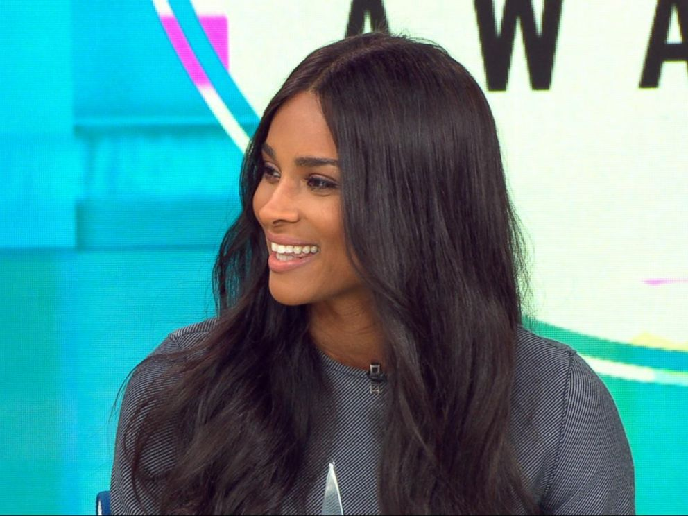 PHOTO: Singer Ciara announced AMA nominees in six categories live on GMA.