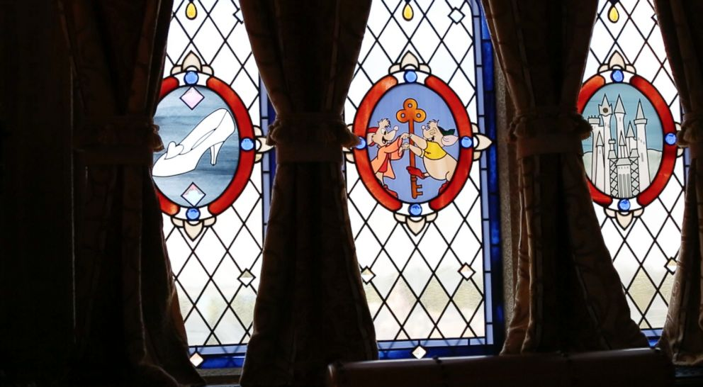 A look inside the Cinderella Castle suite at Walt Disney World.