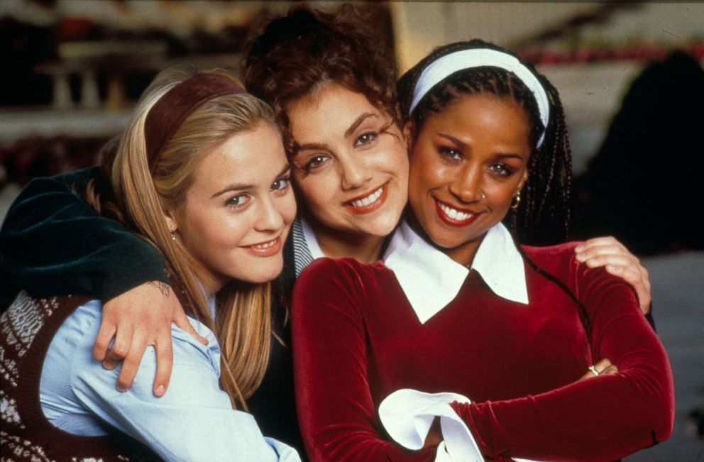 PHOTO: Alicia Silverstone, Brittany Murphy and Stacey Dash are pictured in a still from Clueless, 1995.