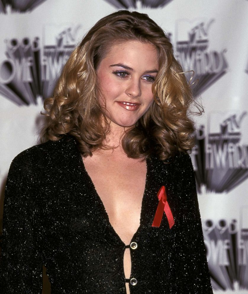PHOTO: Alicia Silverstone is pictured at the 1995 MTV Movie Awards show in Burbank, Calif., June 10, 1995.
