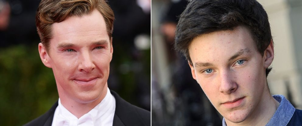 PHOTO: Tyler Michell, right, is a doppelgnger of Benedict Cumberbatch.