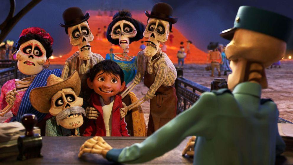 """Disney/Pixar's animated film """"Coco."""""""