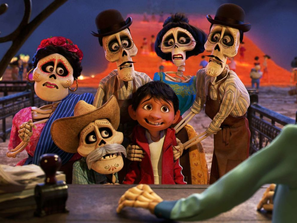 PHOTO: Disney/Pixars animated film Coco.