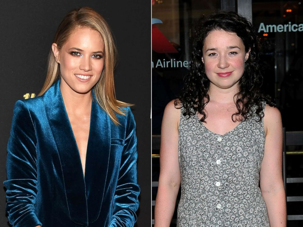 PHOTO: From left: Cody Horn attends an event on April 21, 2017 in Las Vegas.| Actress Sarah Steele attends an event on June 29, 2017, in New York City.
