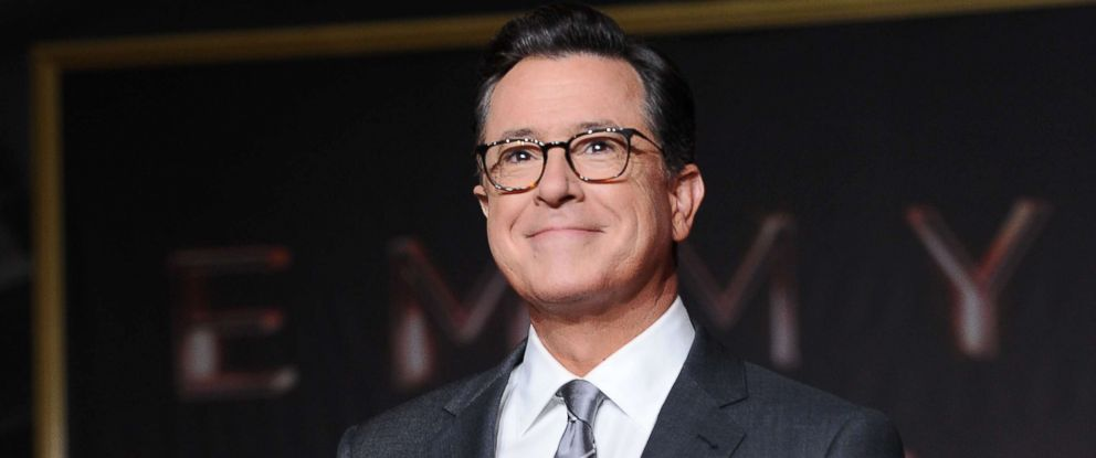 PHOTO: Stephen Colbert attends the 69th Emmy Awards press preview day at Microsoft Theater on Sept. 12, 2017, in Los Angeles.
