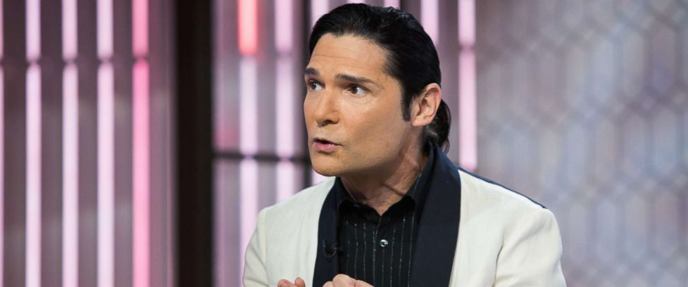 PHOTO: Corey Feldman speaks during an interview, Oct. 30, 2017.
