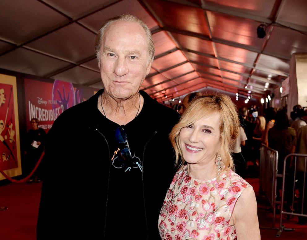 PHOTO: Craig T. Nelson and Holly Hunter attend the premiere of Disney and Pixars Incredibles 2 on June 5, 2018, in Los Angeles.