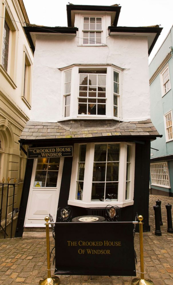PHOTO: The Crooked House of Windsor in Windsor, England is pictured in this undated stock photo.