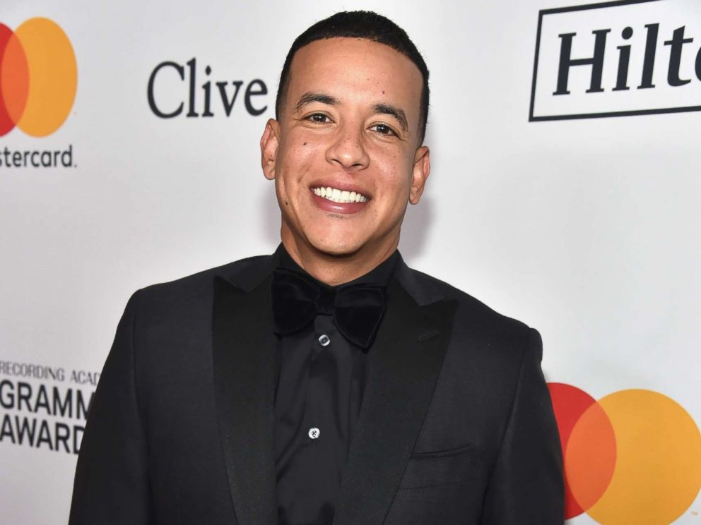 PHOTO: Recording artist Daddy Yankee attends the Clive Davis and Recording Academy Pre-GRAMMY Gala and GRAMMY Salute to Industry Icons Honoring Jay-Z, Jan. 27, 2018 in New York City.