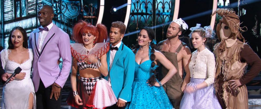 "PHOTO: The dancing teams joined forces to do one group dance on Halloween night on ""Dancing with the Stars,"" Oct. 30, 2017."