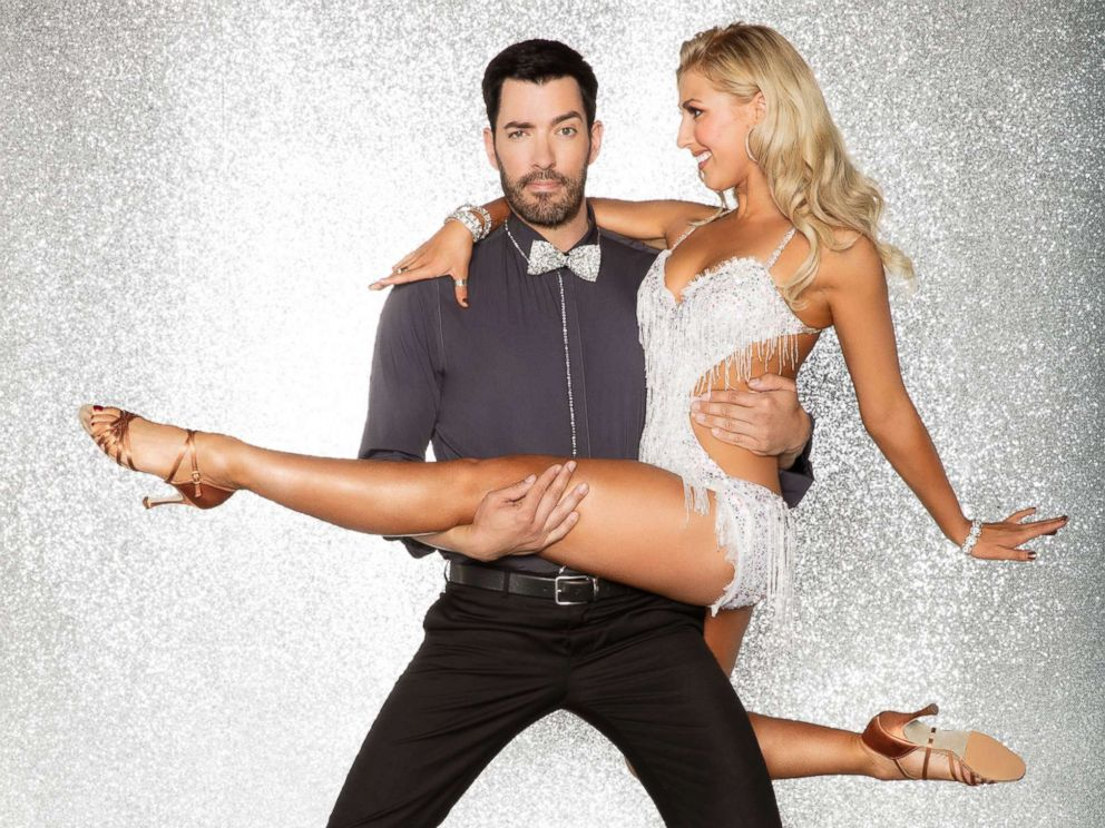PHOTO: Drew Scott is photographed here with his pro dance partner Emma Slater, who will compete with him in season 25 of Dancing With the Stars.