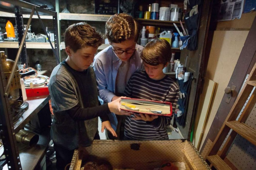 "The series, ""The Dangerous Book for Boys,"" begins streaming on Amazon in March."
