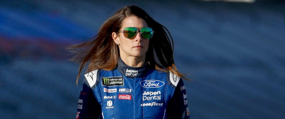 PHOTO: Danica Patrick walks on the grid during the Monster Energy NASCAR Cup Series AAA Texas 500 at Texas Motor Speedway, Nov. 3, 2017, in Fort Worth, Texas.