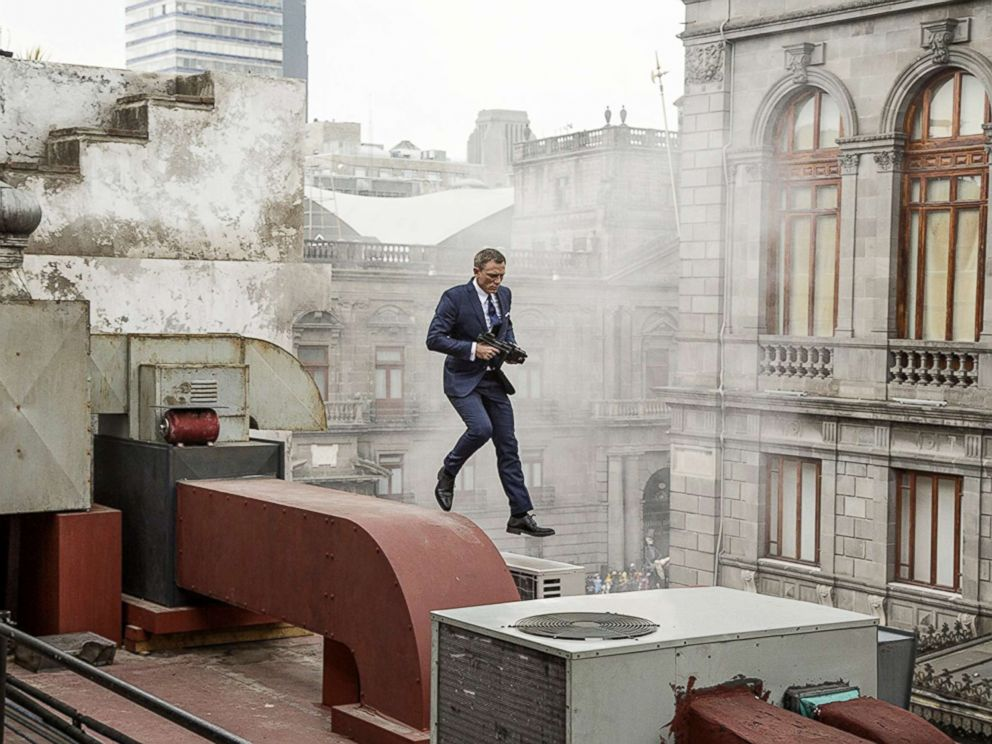 PHOTO: Daniel Craig appears in a scene from Spectre.
