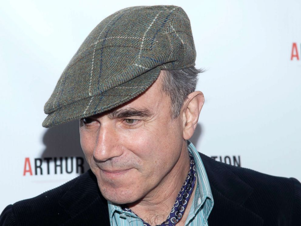 PHOTO: Daniel Day-Lewis attends the Arthur Miller - One Night 100 Years benefit at the Lyceum Theatre in New York City.