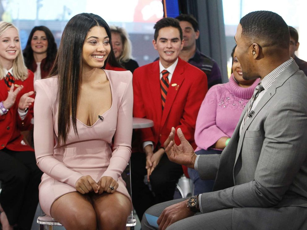PHOTO: Sports Illustrated Swimsuit 2018 cover model Danielle Herrington is a guest on Good Morning America, Feb. 13, 2018.