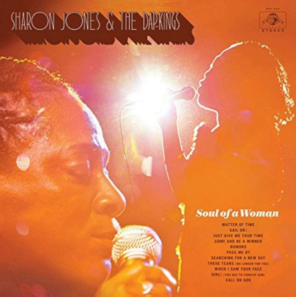 PHOTO: Sharon Jones & Dap-Kings new album Soul of a Woman was released on Nov. 17, 2017.