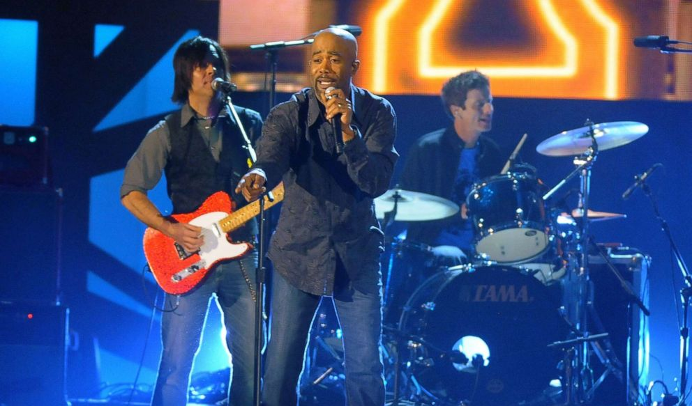 PHOTO: Darius Rucker performs onstage during the 43rd Annual CMA Awards at the Sommet Center on Nov. 11, 2009, in Nashville.