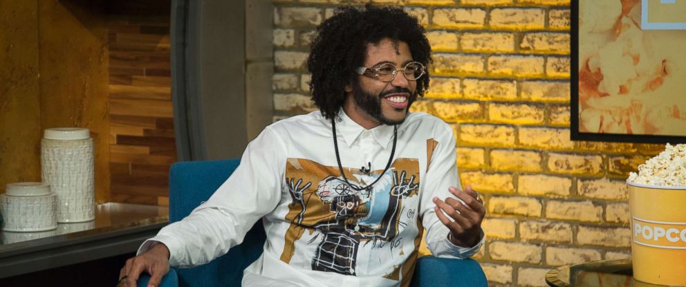 """PHOTO: Daveed Diggs appears on """"Popcorn with Peter Travers"""" at ABC News studios, July 18, 2018, in New York City."""