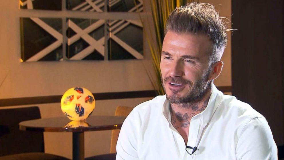 David Beckham Launches New Major League Soccer Team In Miami Abc News