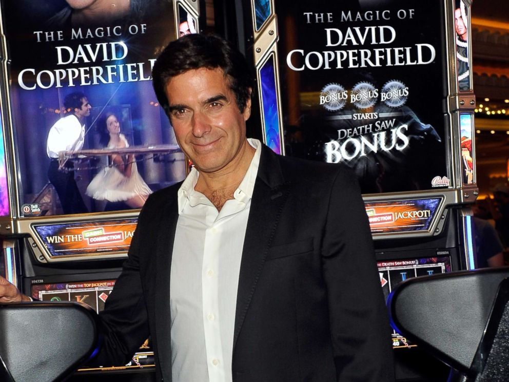 david copperfield responds to sexual assault allegation abc news photo david copperfield appears a new slot machine the magic of david copperfield