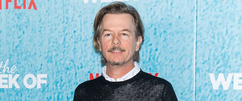 "PHOTO: David Spade attends ""The Week Of"" New York Premiere at AMC Loews Lincoln Square, April 23, 2018, in New York City."
