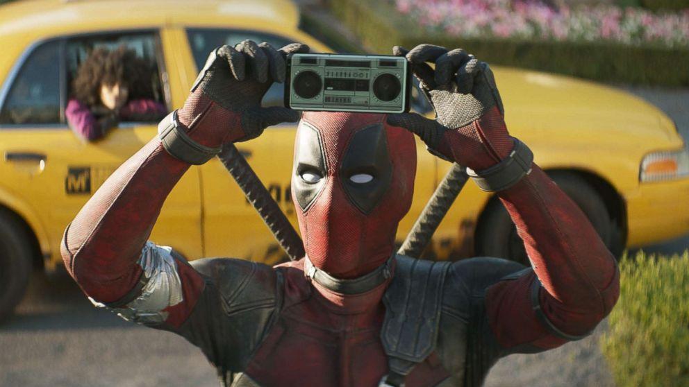 """Ryan Reynolds in a scene from """"Deadpool 2."""""""